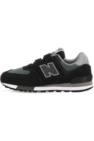 "New Balance Sneakers ""574"" In Camoscio E Rete"