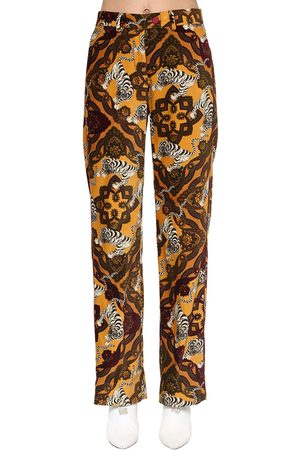 F.R.S For Restless Sleepers Pantaloni In Velluto Di Cotone