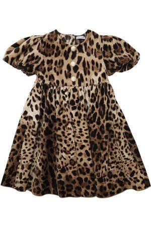 Dolce & Gabbana Abito In Velluto Stretch