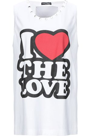 Dolce & Gabbana Donna Senza maniche - TOPWEAR - T-shirts