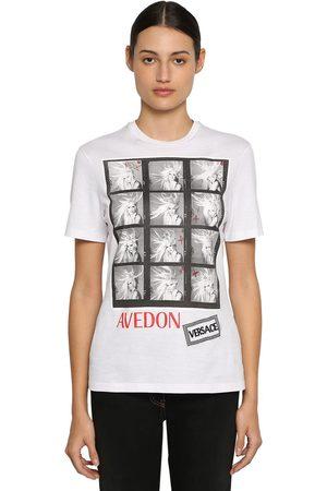 VERSACE T-shirt In Jersey Di Cotone