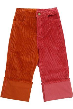 Oscar de la Renta Pantaloni In Velluto Millerighe