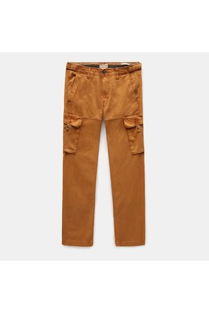 Timberland Uomo Cargo - Pantaloni Cargo Da Uomo In Twill Squam Lake In