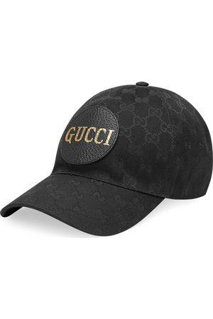 Gucci Cappelli con visiera - Cappellino da baseball in tessuto GG