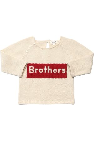 "OEUF Maglia ""brothers"" In Baby Alpaca"