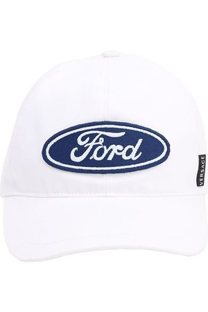 "VERSACE Cappello Baseball ""ford"" In Cotone"