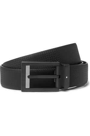MONTBLANC Uomo Cinture - 3cm Textured-Leather Belt