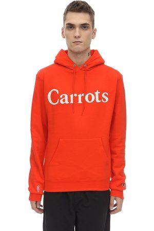 """CARROTS X JUNGLE Felpa """"s"""" In Cotone Con Cappuccio"""