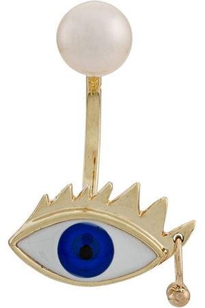 DELFINA DELETTREZ Orecchino Eye Piercing in 9kt