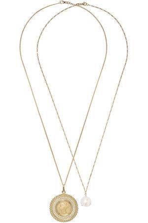 WOUTERS & HENDRIX Set di collane in 18kt con pendente a perla - YELLOW GOLD
