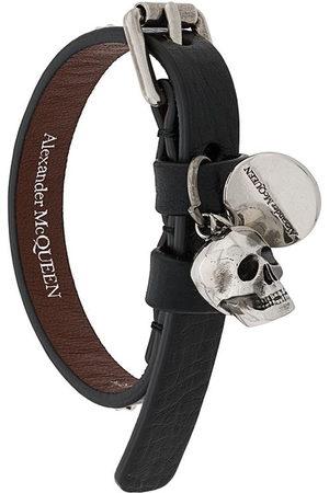 Alexander McQueen Bracciale con teschio - Di colore