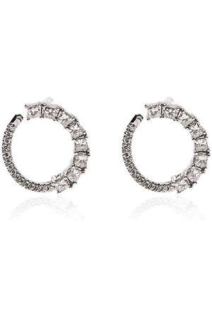 Dana Rebecca Designs Orecchini Sadie in 14kt e diamanti - WHITE GOLD