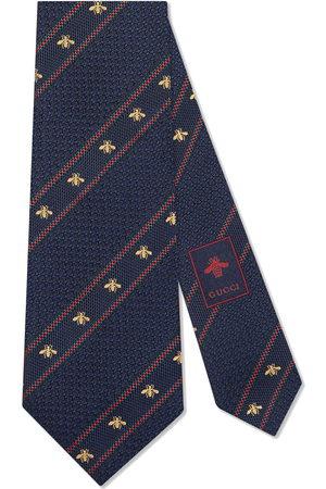 Gucci Cravatta con dettaglio Web