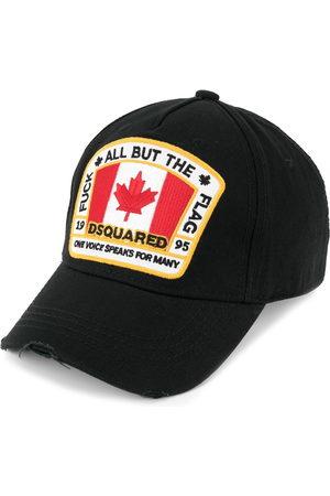 Dsquared2 Cappello da baseball con applicazione