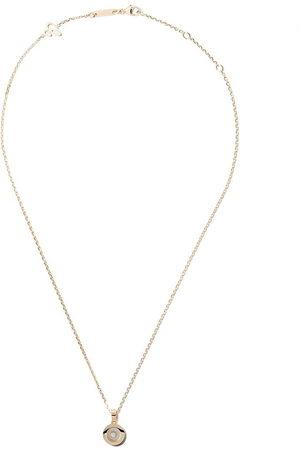 Chopard Collana 'Happy Diamonds Icons' in 18kt con pendente - YELLOW GOLD