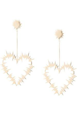 Karen Walker Orecchini pendenti Electric Heart