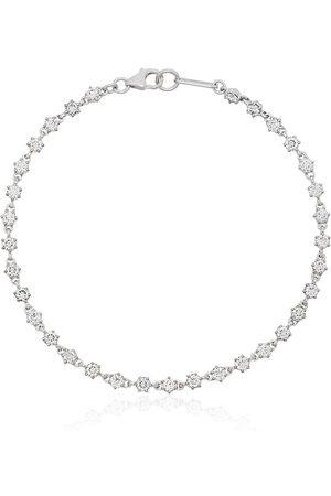 Jade Trau Donna Bracciali - Bracciale tennis Penelope in oro bianco 18kt con diamanti - METALLIC