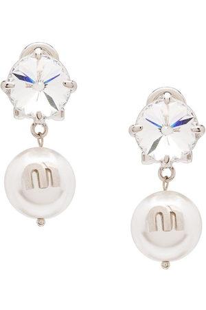 Miu Miu Orecchini Solitaire Jewels