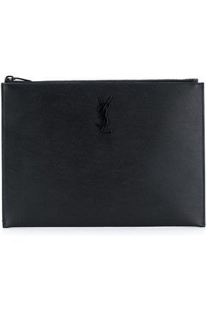 Saint Laurent Custodia porta iPad con logo