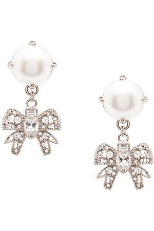 Miu Miu Orecchini Micro Bow Jewels