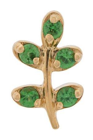 LOQUET Collana con ciondolo a forma di rametto di ulivo in oro 18kt