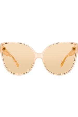 Linda Farrow Donna Occhiali da sole - Occhiali da sole cat-eye 656 C4