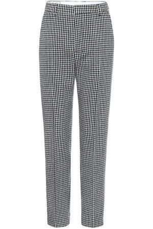Ami Pantaloni in lana pied-de-poule