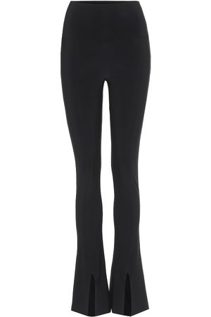 Norma Kamali Leggings flared in jersey stretch