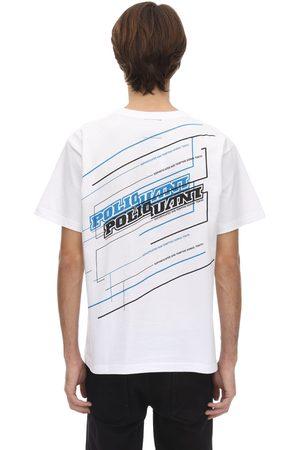 "Poliquant T-shirt ""plumbing "" In Cotone"