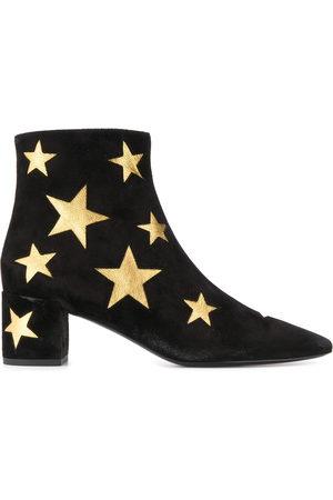 Saint Laurent Stivaletti con stelle - Di colore