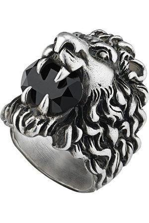 Gucci Anello con testa di leone