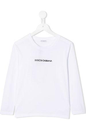 Dolce & Gabbana Top a maniche corte con stampa - Di colore