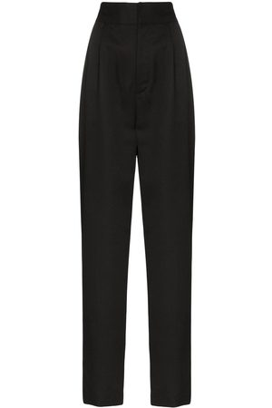 AMBUSH Pantaloni slim a vita alta - Di colore