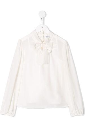 Dolce & Gabbana Bambina Bluse - Blusa con collo lavallière