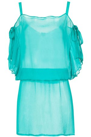 AMIR SLAMA Donna Abbigliamento da mare - Silk beach cover-up