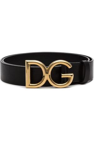 Dolce & Gabbana Uomo Cinture - Cintura con fibbia logata