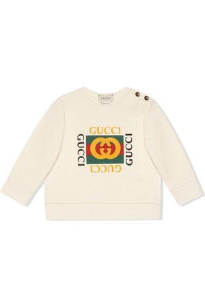 Gucci Felpe - Felpa Baby con logo Gucci - Di colore