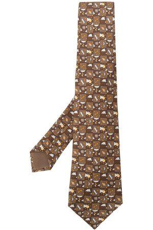 Hermès Uomo Cravatte - Cravatta con stampa anni 2000 Pre-owned