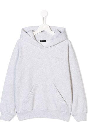 Balenciaga Hoodies - Felpa con logo ricamato - Di colore
