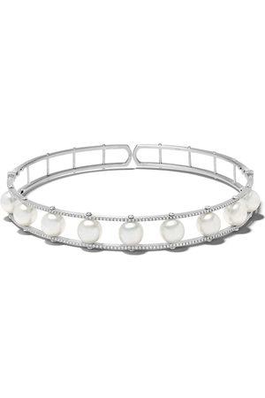 Yoko London Collana Novus in oro bianco 18kt con perle del Mare del Sud e diamanti - 7