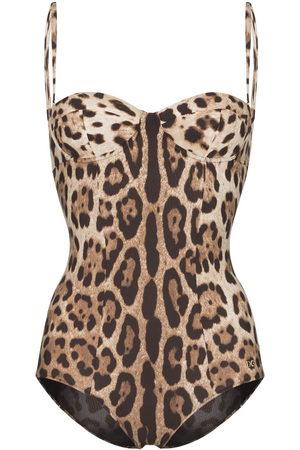 Dolce & Gabbana Donna Costumi interi - Costume intero con stampa - Color