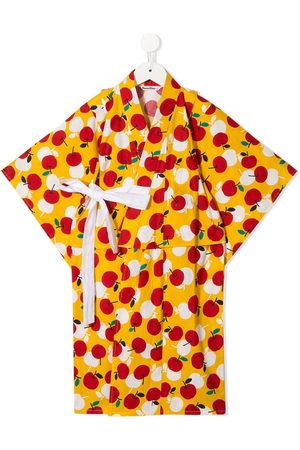 Familiar Set kimono con stampa - Di colore