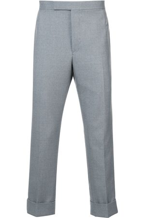 "Thom Browne Uomo Eleganti - ""Classic Backstrap Trouser With Red, White And Blue Selvedge In School Uniform Twill"""