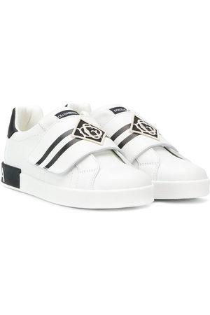 Dolce & Gabbana Sneakers con chiusure a strappo - Di colore