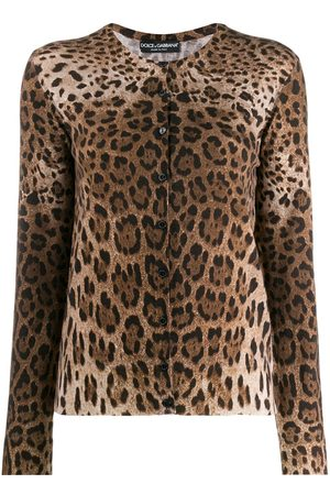 Dolce & Gabbana Cardigan leopardato