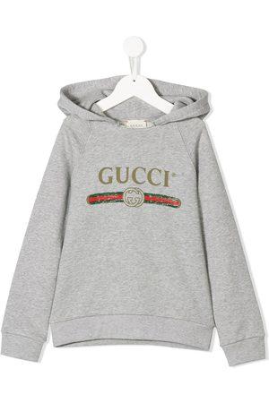 Gucci Felpa con logo Vintage