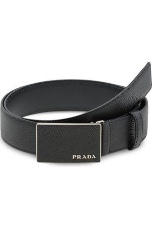 Prada Uomo Cinture - Cintura con fibbia smaltata