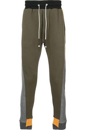 MOSTLY HEARD RARELY SEEN Pantaloni jogger a tasselli cromatici