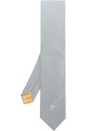 Pierre Cardin Cravatta con logo ricamato - Di colore