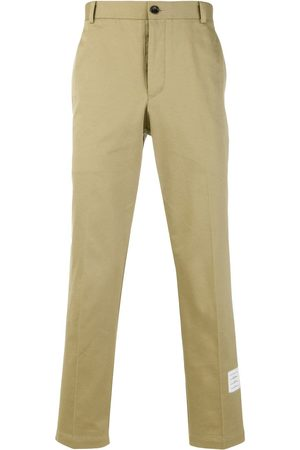 Thom Browne Cotton Twill Unconstructed Chino Trouser - Toni neutri